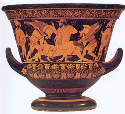 Ancient Greek War Pottery